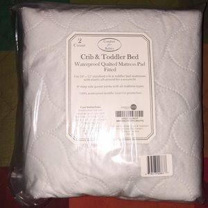 Crib & Toddler Bed-  waterproof mattress pad 2